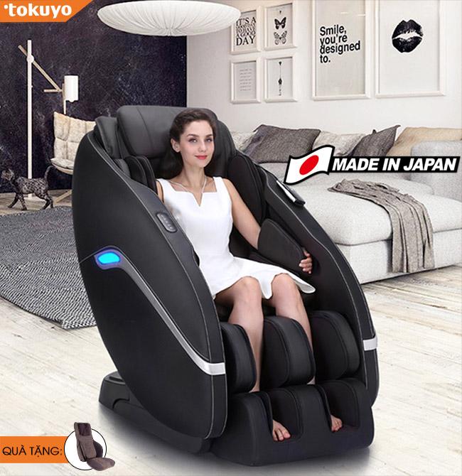 Ghế massage Tokuyo JC-3730 Nhập khẩu Nhật Bản