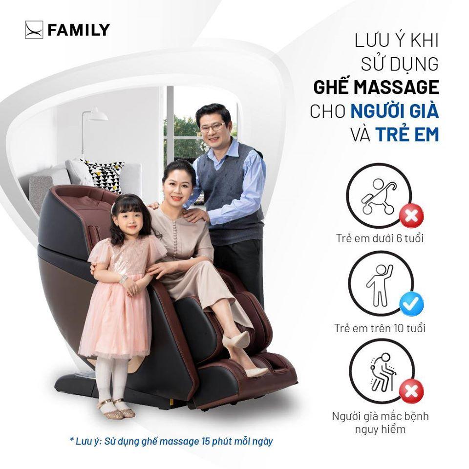 7 lưu ý khi sử dụng ghế massage để mang lại hiệu quả tốt nhất
