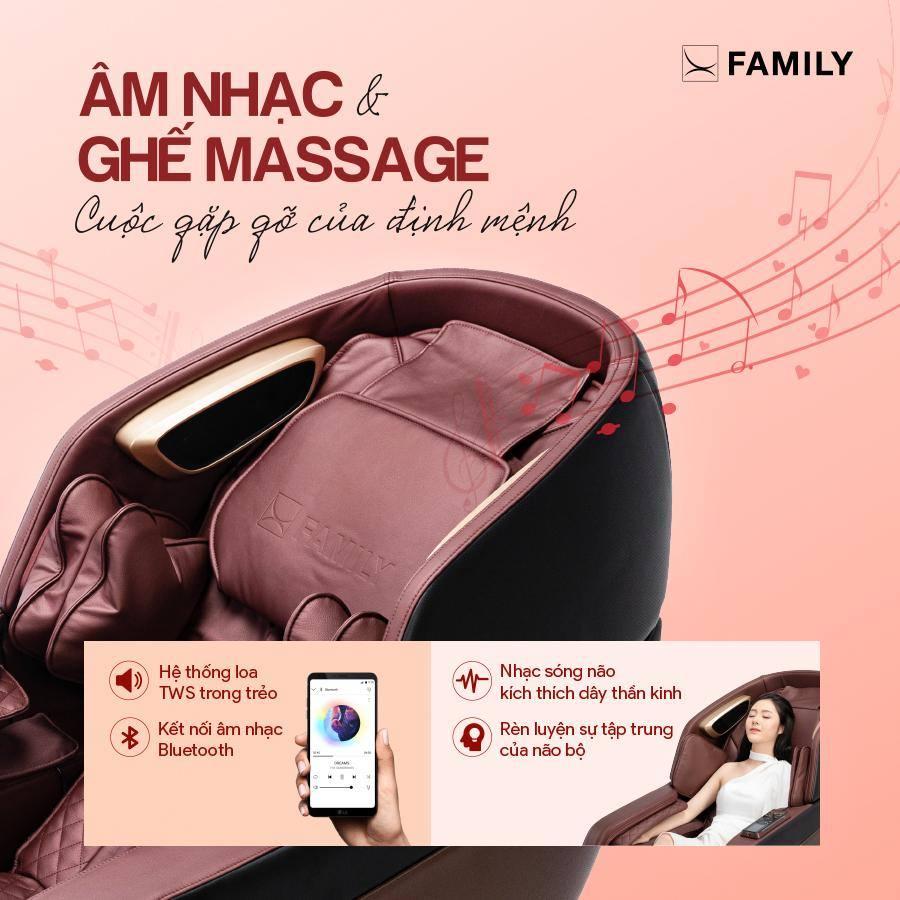 5 Mẫu ghế massage dẫn đầu xu hướng chăm sóc sức khỏe 4.0
