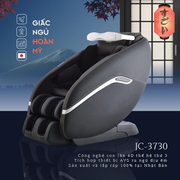 Ghế Massage Toàn thân Tokuyo JC-3730+AVS (Made in Japan)