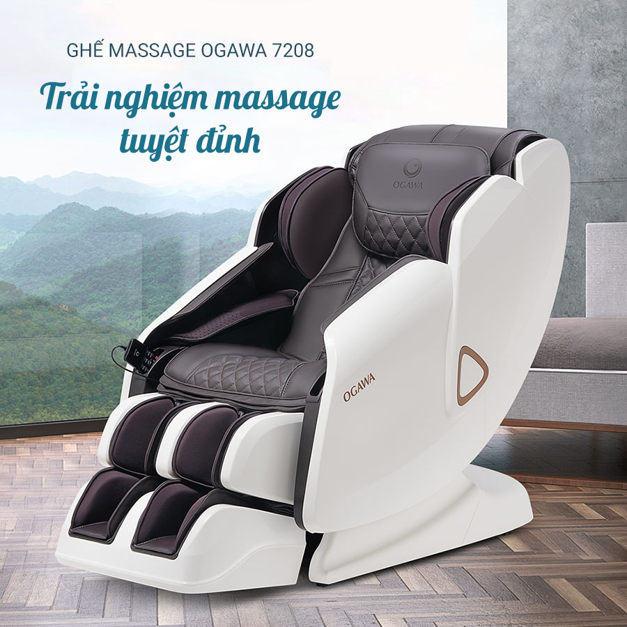 Ghế Massage Toàn Thân Ogawa 7208