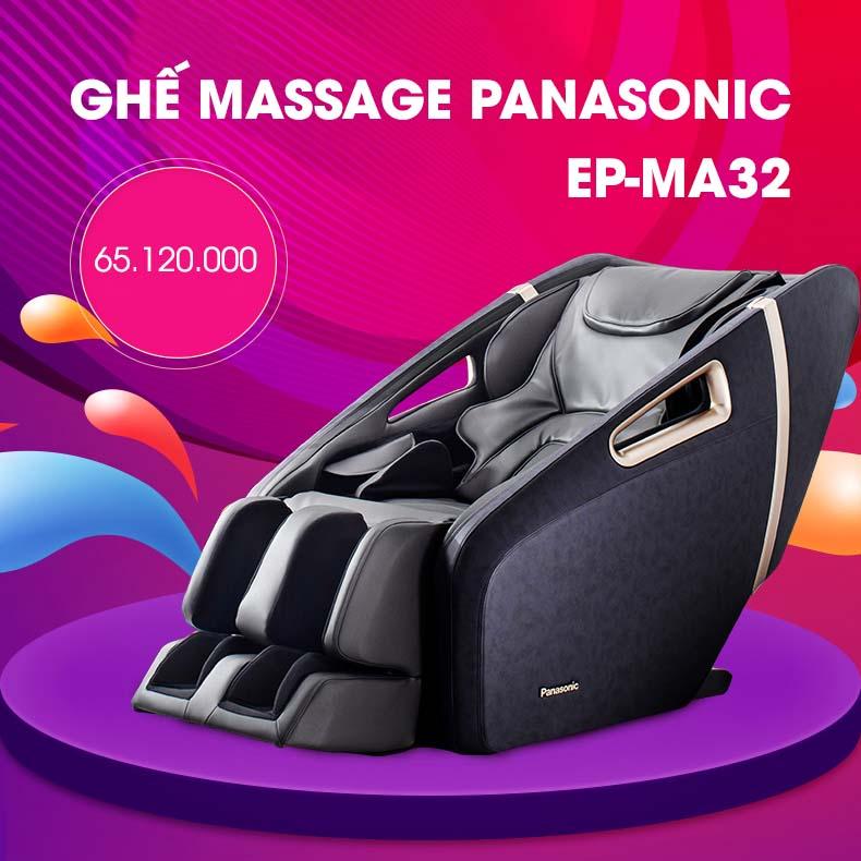 Ghế Massage Toàn Thân Panasonic EP-MA32