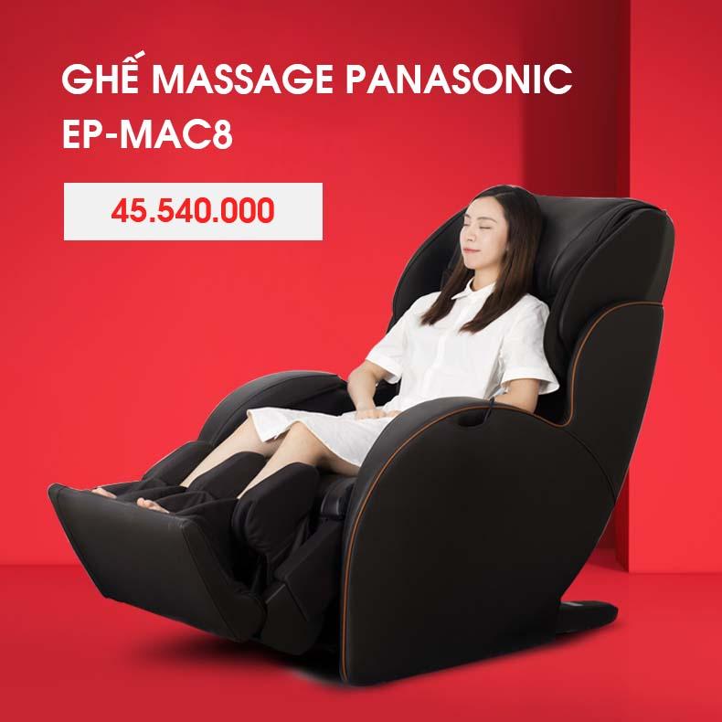 Ghế Massage Toàn Thân Panasonic EP - MAC8