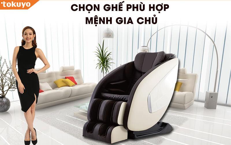 Câu chuyên khách hàng về mua ghế massage hợp mệnh