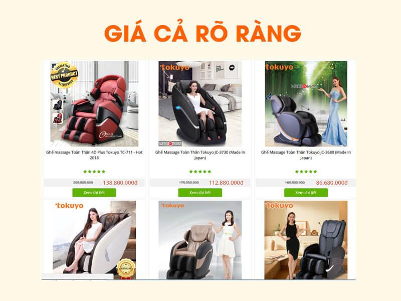 Sự thật về ghế massage giá rẻ tại Việt Nam