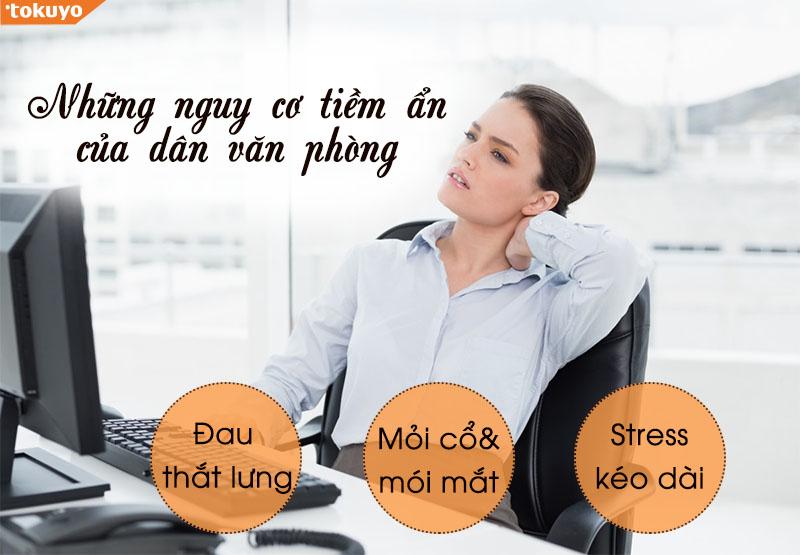 Lợi ích của Ghế Massage với dân văn phòng