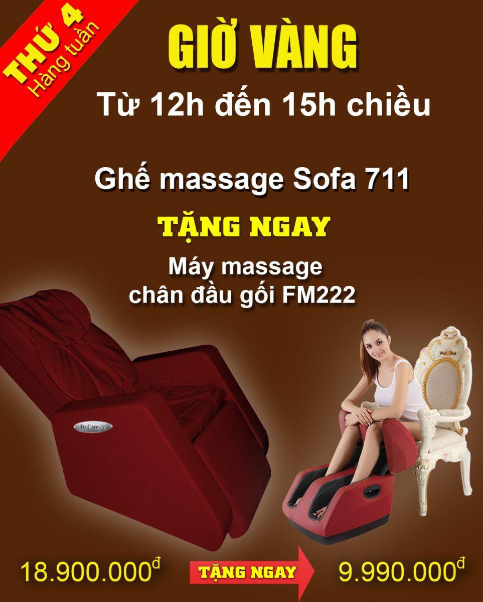 ghế massage khuyến mại