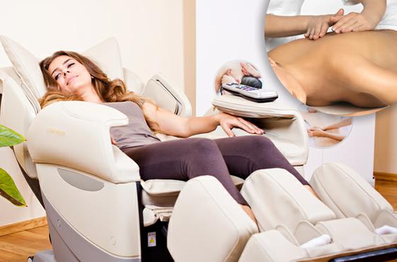 thư giãn với ghế massage ngay tại nhà